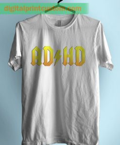 ADHD Highway To Distraction Graphic TShirt
