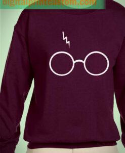 Harry Potter Pott Head Logo Unisex Sweatshirt
