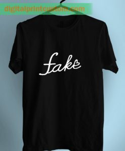 Love Is Fake Graphic T Shirt