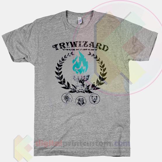 Triwizard tournament t shirt by digitalprintcustom for Wizard t shirt printing