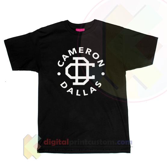 Cameron dallas t shirt by digitalprintcustom for Custom made shirts dallas