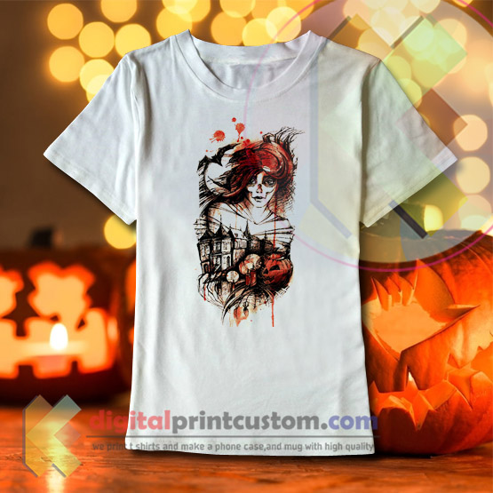 Halloween T Shirt Ideas.Halloween Girl T Shirt By Digitalprintcustom Com Halloween