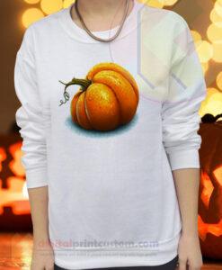 Halloween Pumpkin Crewneck Sweatshirts