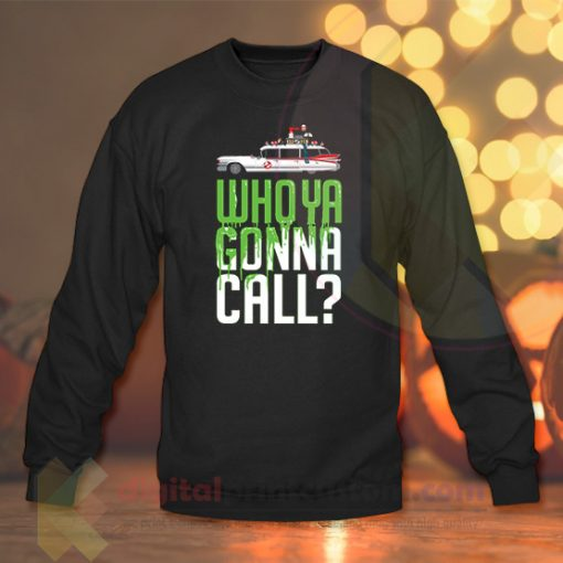 Who ya gonna call Crewneck Sweatshirts