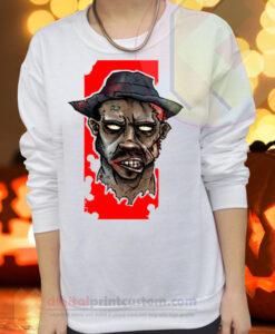 Zombie Apocalypse Crewneck Sweatshirts