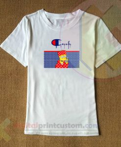 Cash Homer Pattern T-shirt