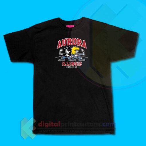 Aurora Illinois Party T-shirt