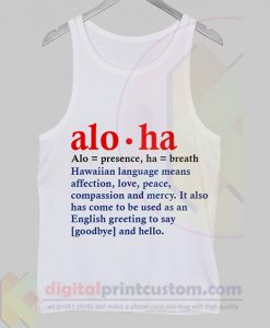 Aloha Tank Top