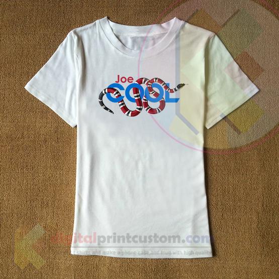 decd4c0a894 Snoopy Gucci Snake X Stylish Joe Cool T Shirt By Digitalprintcustom ...