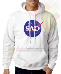 Sad NASA Parody Custom Unisex Hoodie