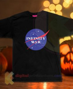Infinity War Parody Nasa T-shirt