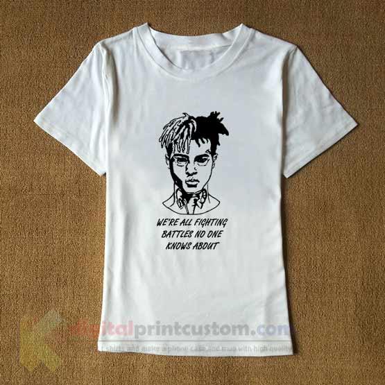 Xxxtentacion Quote T Shirt Ideas T Shirt Design By Digitalprintcustom