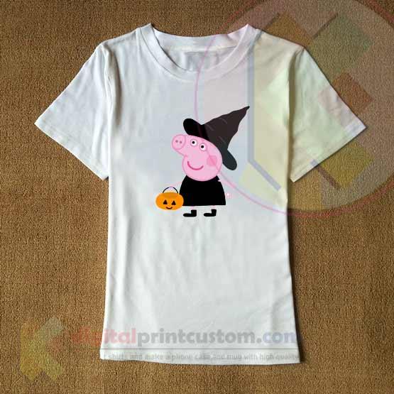 Halloween T Shirt Ideas.Peppa Pig Halloween T Shirt Design By Digitalprintcustom
