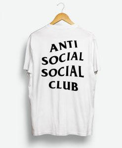 Anti Social Social Club Rear Logo Shirt