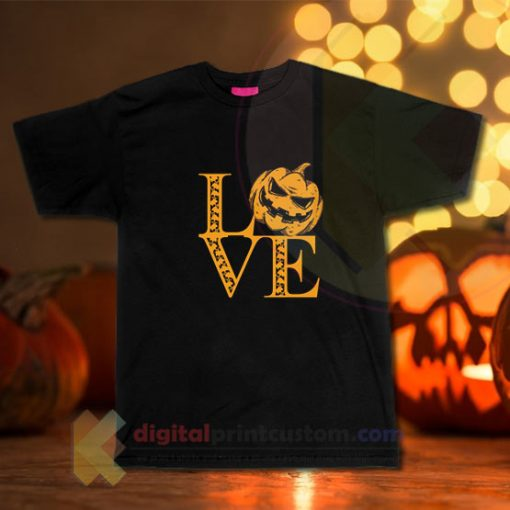 Love Halloween Skulls T-shirt
