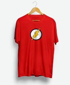 DC Flash Logo Men's Red T-shirt