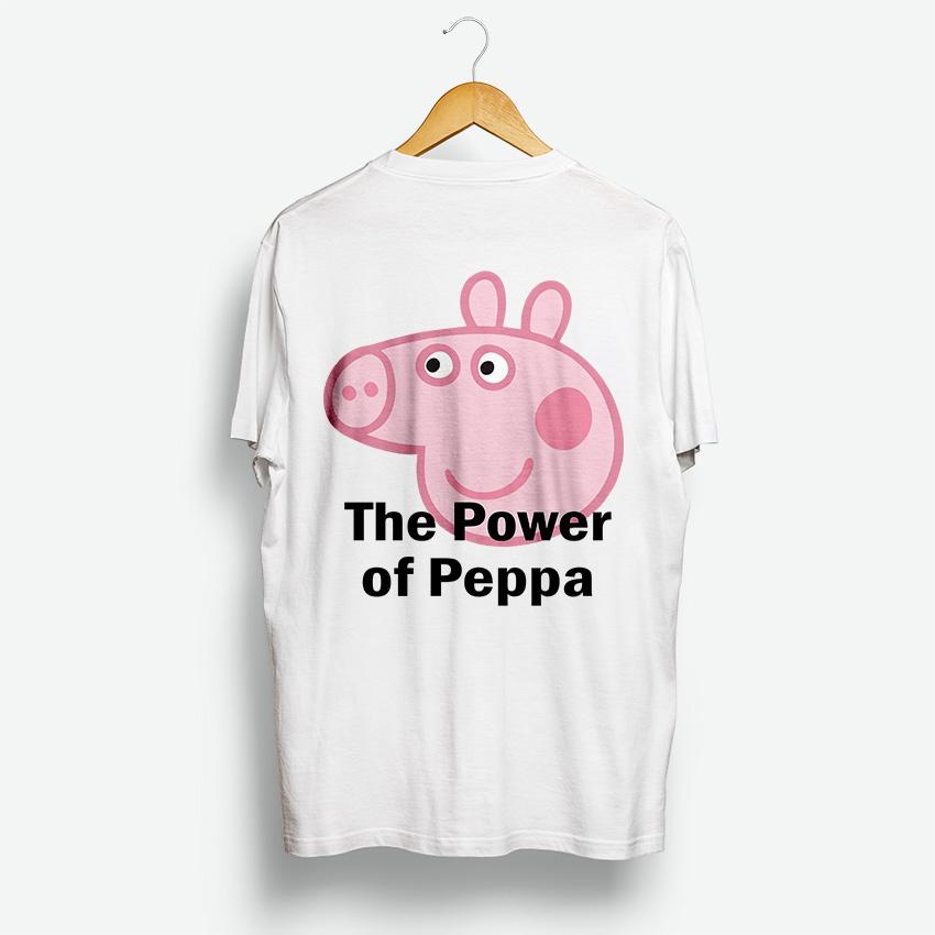 2ce798e5 The Power Of Peppa Pig Shirt   Design By Digitalprintcustom