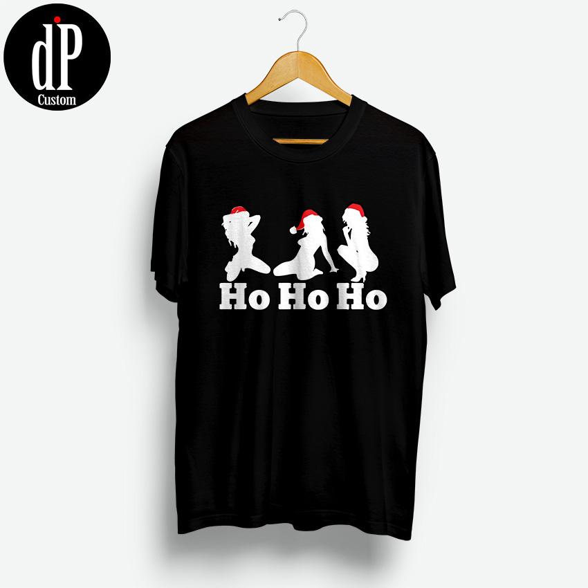 48f1fa6dc5e3 Ho Ho Ho Funny Merry Christmas T Shirts | Design By ...