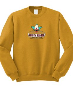 Krusty Burger Sweatshirt
