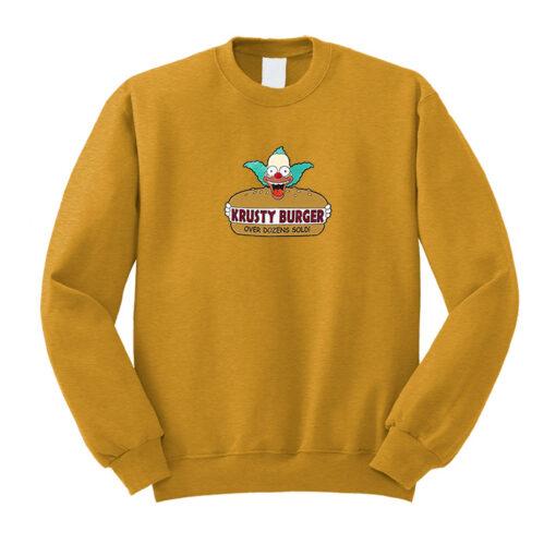 Krusty Burger Sweatshirt
