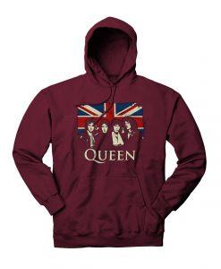 Queen Bohemian Rhapsody Rock Legend Hoodie