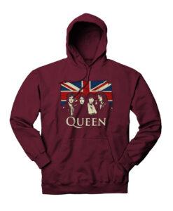 Queen Bohemian Rhapsody Rock Legend Hoodie