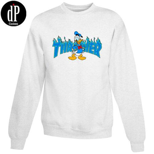 Donald Duck X Thrasher Collab Sweatshirt