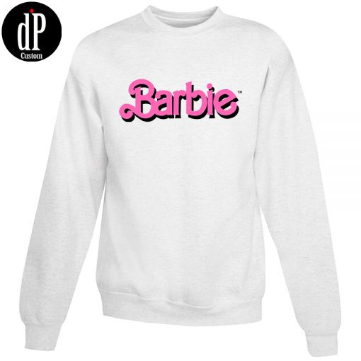 Barbie Font Light Sweatshirt