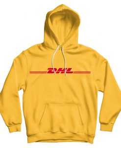 DHL Unisex Hoodie Sweat All Sizes Colours
