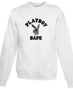 A Bathing Ape X Playboy Collabs Sweatshirt
