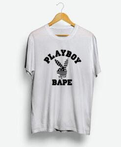 A Bathing Ape X Playboy Collabs T-Shirt