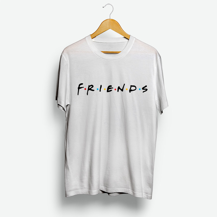 For Sale Friends TV Show Logo Cheap T-Shirt For Men's And