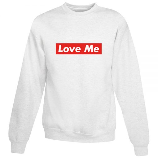 Love Me Red Box For Valentine Days Sweatshirt