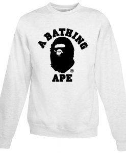 A Bathing Ape Bape Camo Sweatshirt