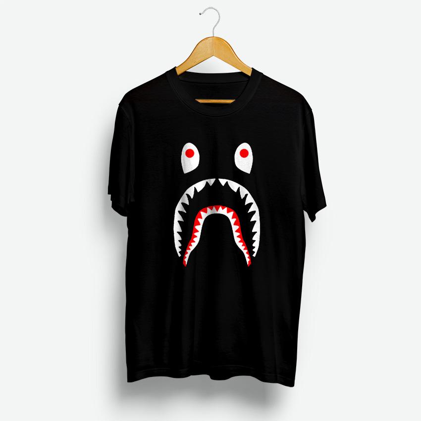 dfffdcee Bape Shark T-Shirt Best Price Cheap For Men's And Women's