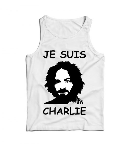 For Sale Je Suis Charles Manson Cheap Tank Top