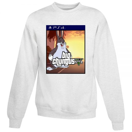 Chungus X PlayStation 4 Meme Sweatshirt
