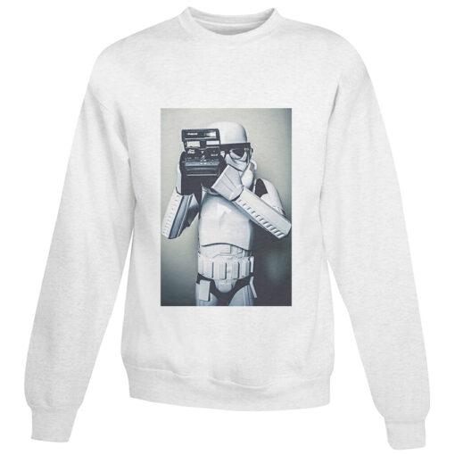 For Sale Star Wars Stormtrooper Selfie Polaroid Cheap Sweatshirt