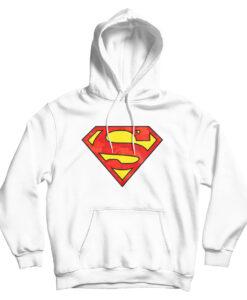 For Sale DC Superman Logo X BAPE Parody Hoodie