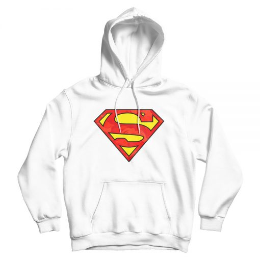 For Sale DC Superman Logo X BAPE Parody Hoodie