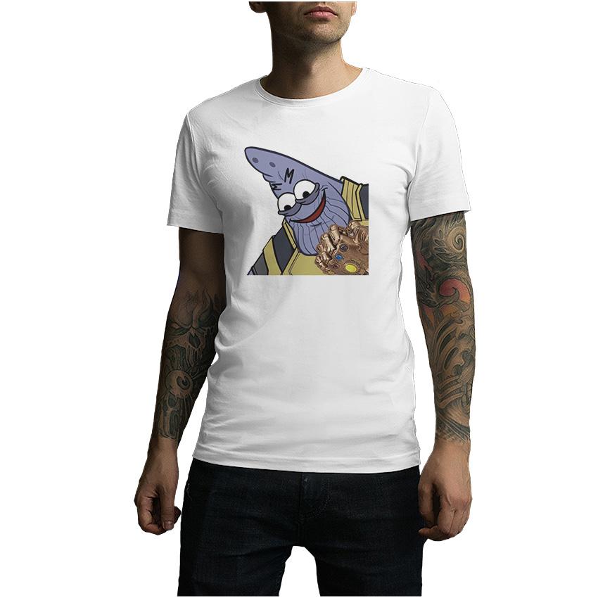 Savage Patrick Thanos Memes Infinity War T-Shirt For Men