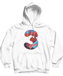 Official Marvel Movie Spiderman Number 3 Hoodie