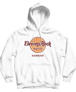 Stranger Eleven Rock Waffle Hawkins Hoodie
