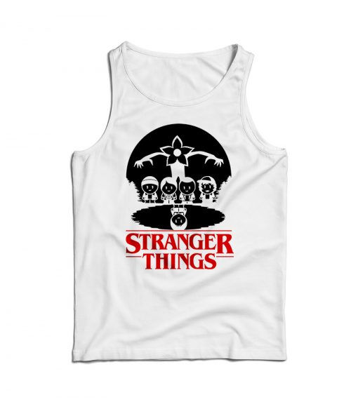 Stranger Things Caricature Tank Top
