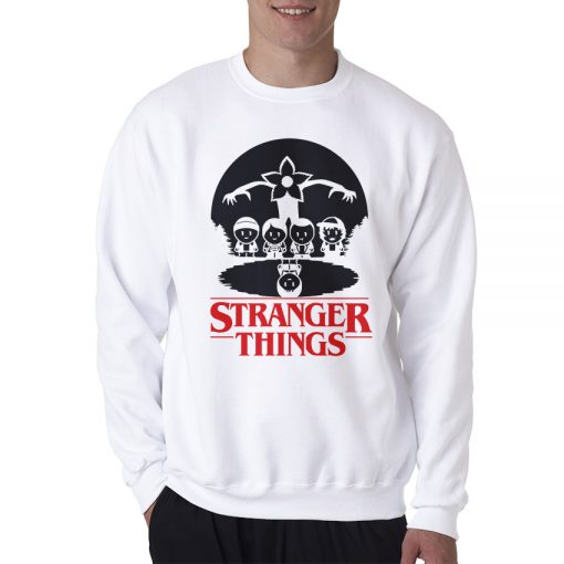 Stranger Things Caricature Sweatshirt