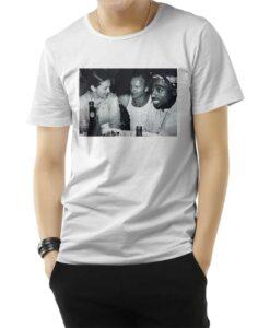 Madonna Sting And 2pac Vintage Pics T-Shirts