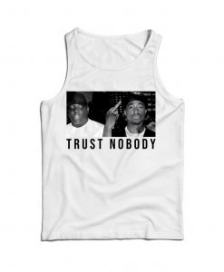 Tupac Shakur And Biggie Legend Vintage Tank Top