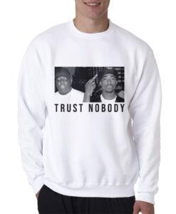 Tupac Shakur And Biggie Legend Vintage Sweatshirt