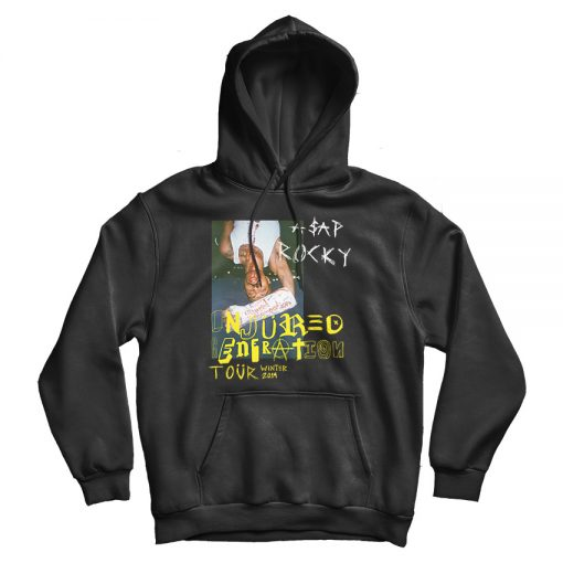 ASAP ROCKY Injured Generation Winter Tour 2019 hoodie