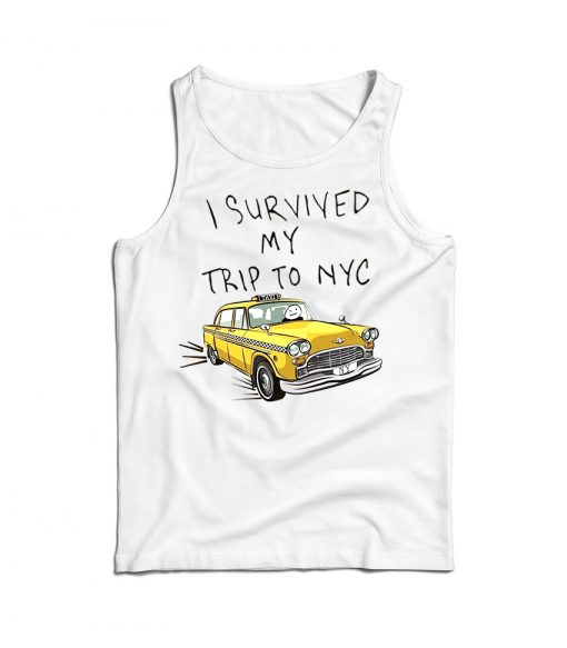 I Survived My Trip To NYC Tom Holland Spider-Man Tank Top